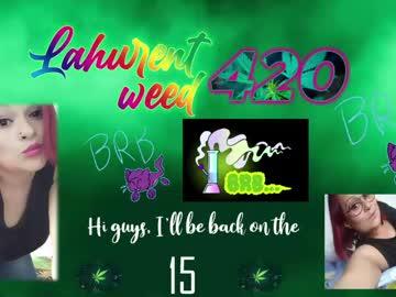 [17-11-20] lahurent_weed420 chaturbate xxx record