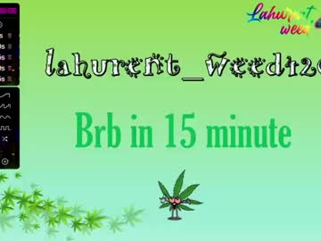 [16-10-20] lahurent_weed420 record video with dildo from Chaturbate